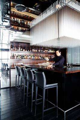 Bar at the Soho, designed by Masamichi Katayama of Wonderwall