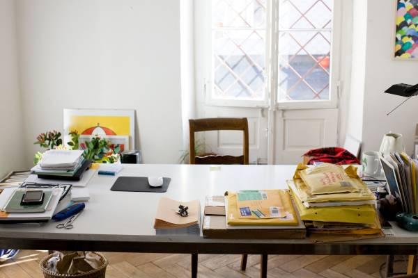 Sommerhalder's desk