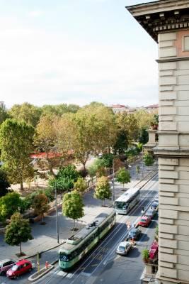 Leafy corner of Esquilino