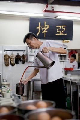 Brew-time at Ya Kun