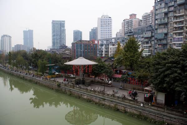 Chengdu Jin river view