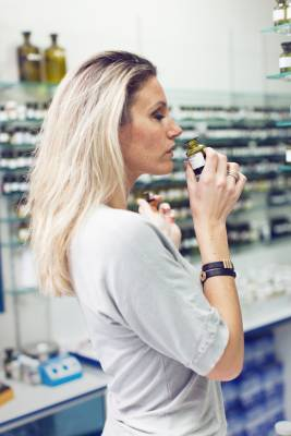 Perfumer Emilie Bouge