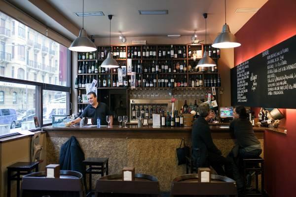 Bar at El Lagar