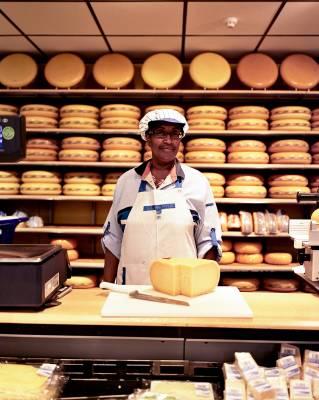 Cheesemonger, Albert Heijn store