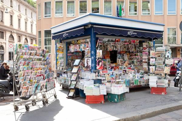 The Kiosk, Fabrizio Prestinari, Milan