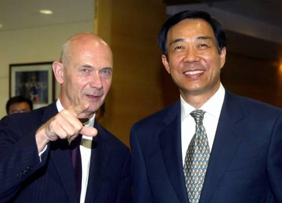 Dalian's mayor, Bo Xilai