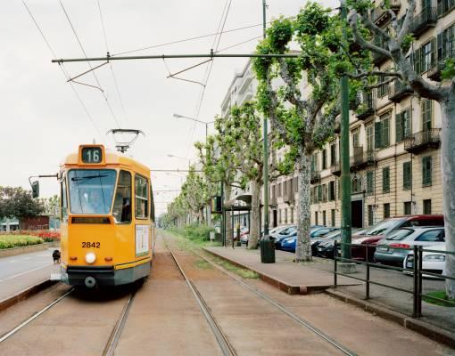 Tram on Corso Cairoli
