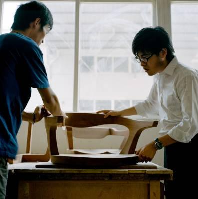 Takuya Aoshima of Intentionallies (right)
