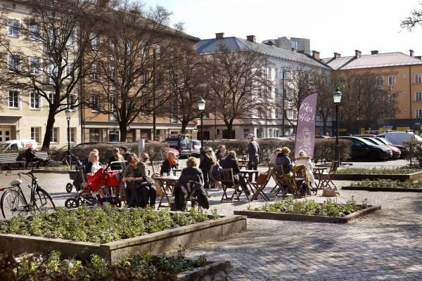 Davidshall Torg, a square in Malmö centre