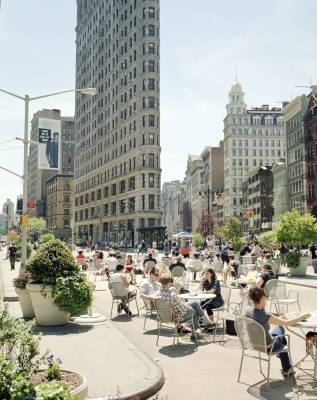 New zoning allows for unfixed public seating