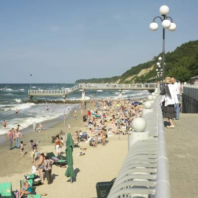 Svetlogorsk beach