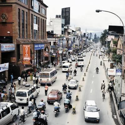 Downtown Kathmandu