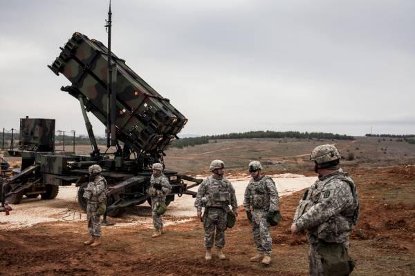 A PAC-2 Patriot launcher
