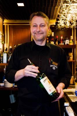 Norwegian barman Peik Kanervavuori