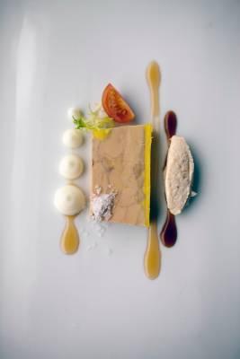 Foie gras at Viento Sur