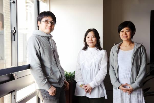 Ryutaro Matsuda, Keiko Akatsuka and Orika Uchiumi