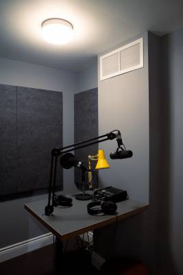 The M24 radio studio
