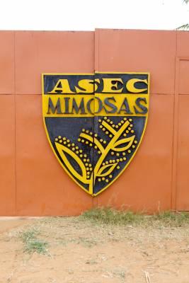 ASEC Mimosas' club badge