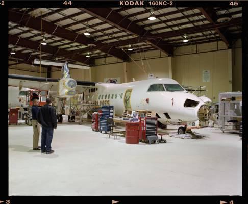 Provincial Aerospace hangar
