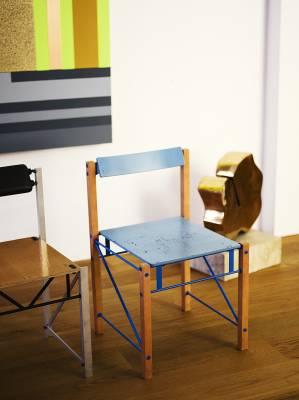 Handmade chairs by Yrjö Kukkapuro (1994)