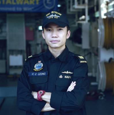 Captain Leong Heen Choong, 30, operations officer