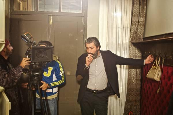 Star of the series, actor Erkan Petekkaya