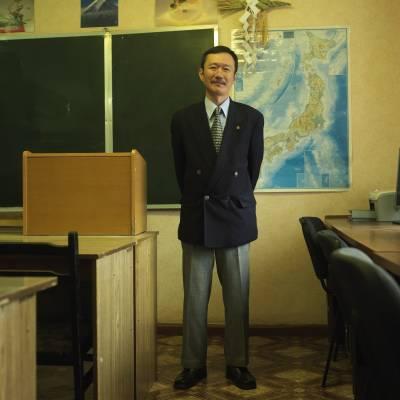 Enamito Yukihiko, Japanese teacher at Kamchatka state university