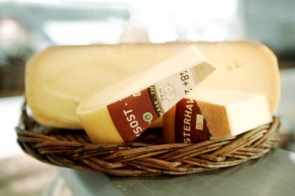 Vesterhavsost North Sea cheese) from Helges Ost