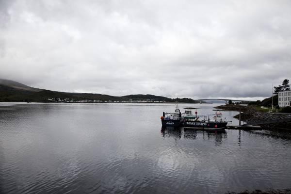 Isle of Skye viewed from the mainland