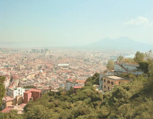 View of Naples and Vesuvius from San Martino monastery