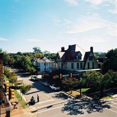 Huntsville's historic downtown