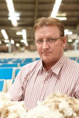 Scott Carmody, wool buyer for Lempriere