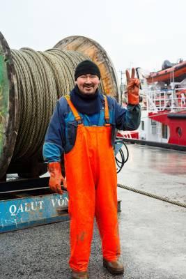 A Nuuk fisherman