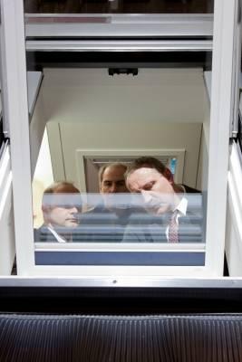 Velux's 180-degree tilting window