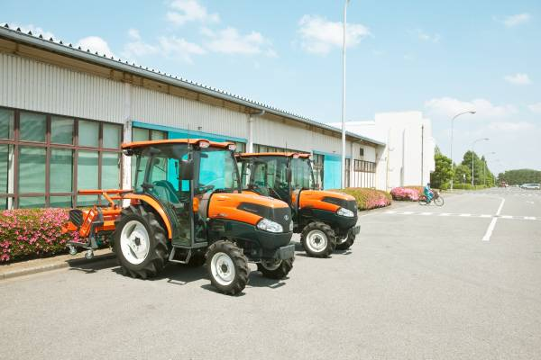 No. 35: A Kubota tractor