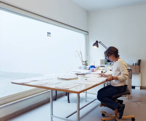 Archivist Chiara Porcu