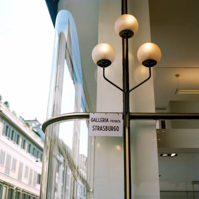 Lighting detail, Galleria Strasburgo