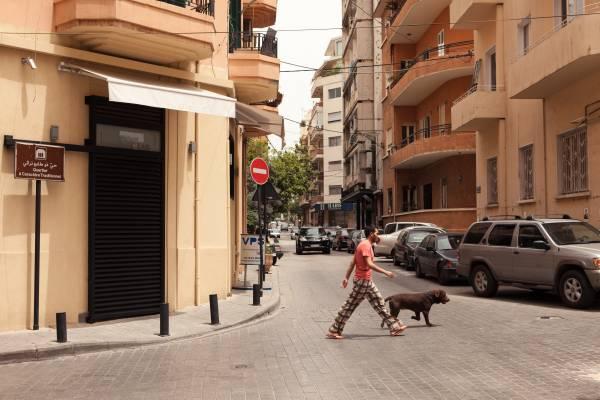 Dog-walking in Ashrafieh