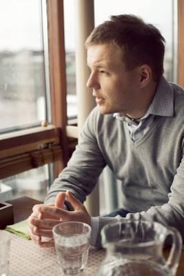 Arctic Startup founder Antti Vilpponen