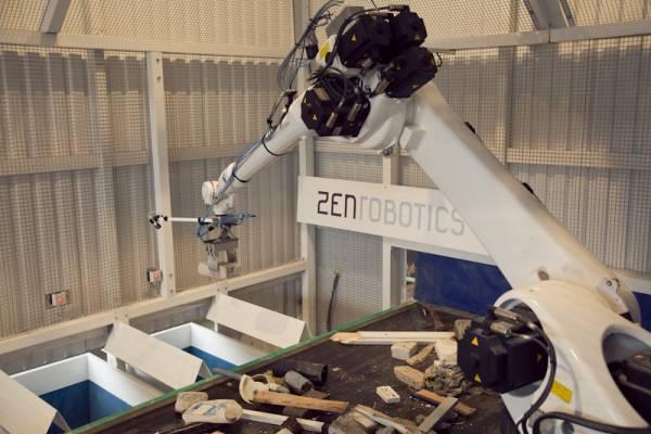 ZenRobotics facility at Viikki, Helsinki