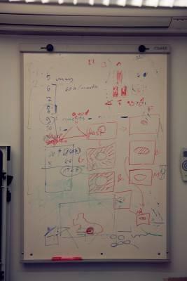 Whiteboard diagrams at ZenRobotics