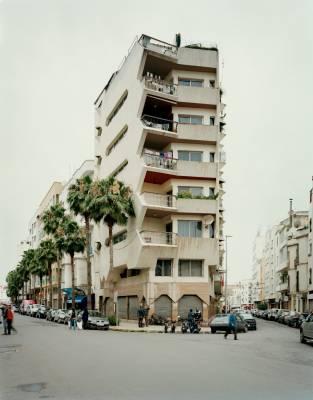 Apartment building on Avenue Hadj Amar Riffi