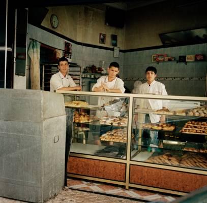 A bakery on Avenue Hadj Amar Riffi