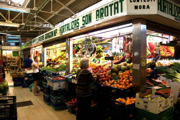 No. 43: Covered market, Palma de Mallorca