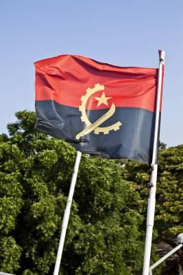 Angola's national flag