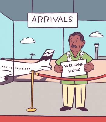 Expat plea