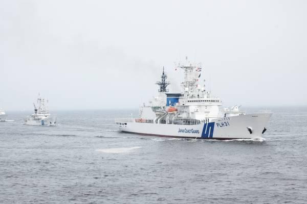 jcg patrol vessels