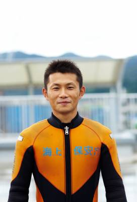 JCG diving instructor