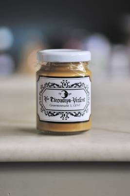 Signature mustard from Tierenteyn-Verlent