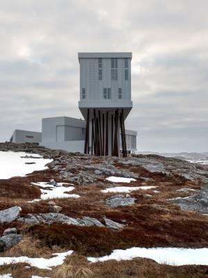 Fogo Island Inn, designed by Bergen-based architect Todd Saunders
